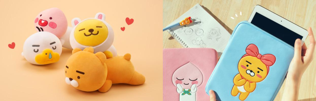韓國旅遊資訊 | 韓國人愛用的 Kakao Talk 通訊軟體,在全韓國推出超可愛的 Kakao Friends Store ( 카카오프렌즈 스토어 )