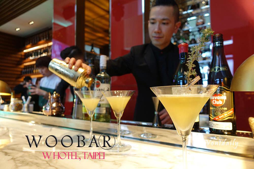 台北 W 飯店 | Woobar 改裝全新面貌,高顏值調酒師與池畔酒吧,信義區夜生活