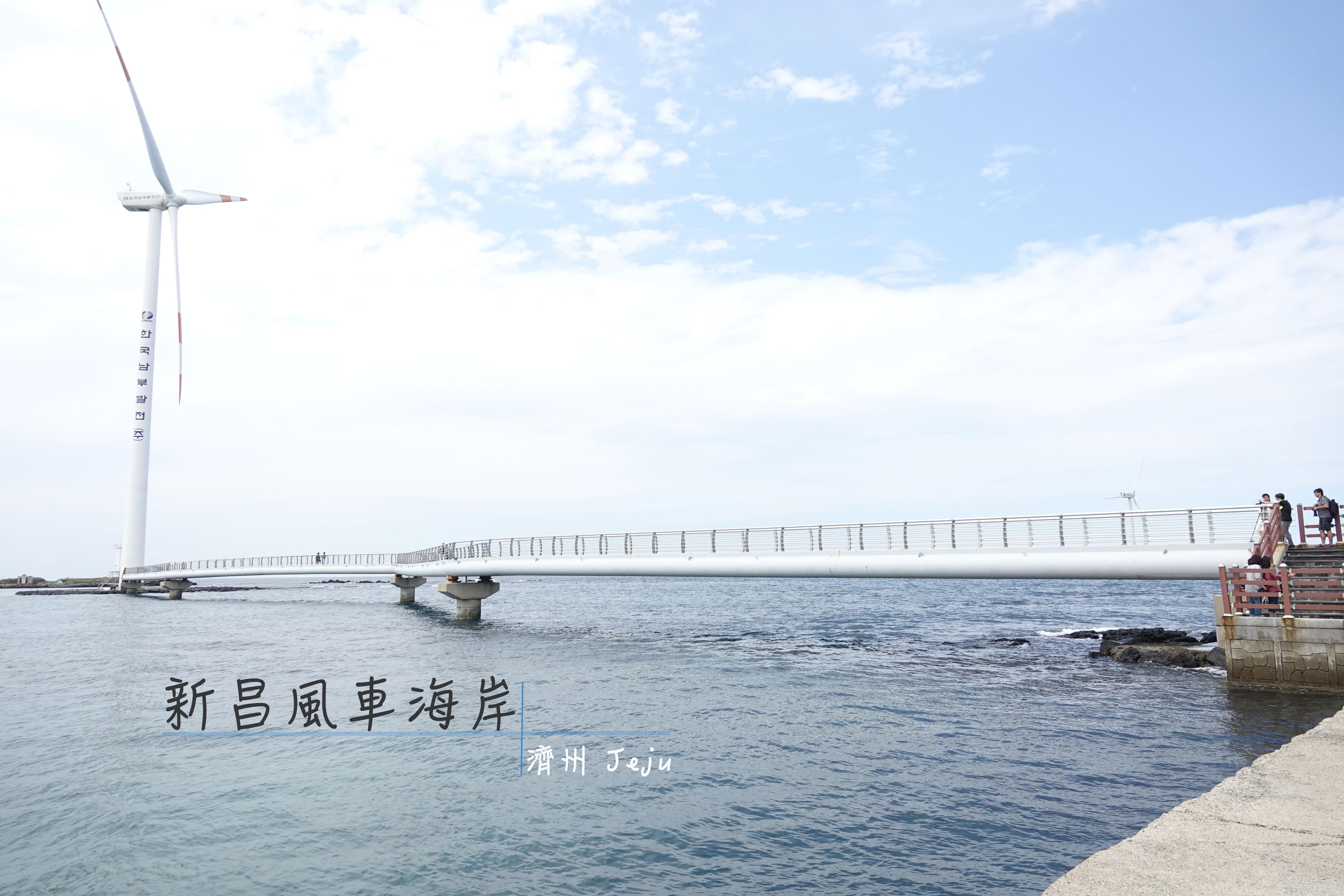 濟州景點.濟州市 | 新昌風車海岸道路 제주신창풍차해안도로,韓劇《Miss Ripley》、電影《天國的郵遞員》拍攝地