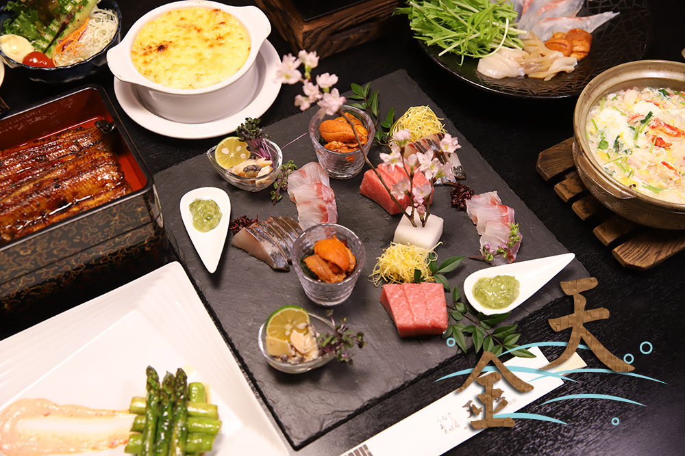 日本北海道.美食 | 二訪旭川天金本店,人氣金黃海膽涮涮鍋、生魚片、鰻魚飯美味端上桌