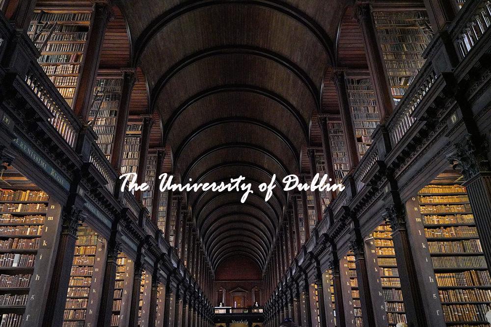 愛爾蘭.景點 | 都柏林大學 ‧ 三一學院 Trinity College Dublin, The University of Dublin,凱爾斯之書 Kell's book、哈利波特場景、愛爾蘭心戒