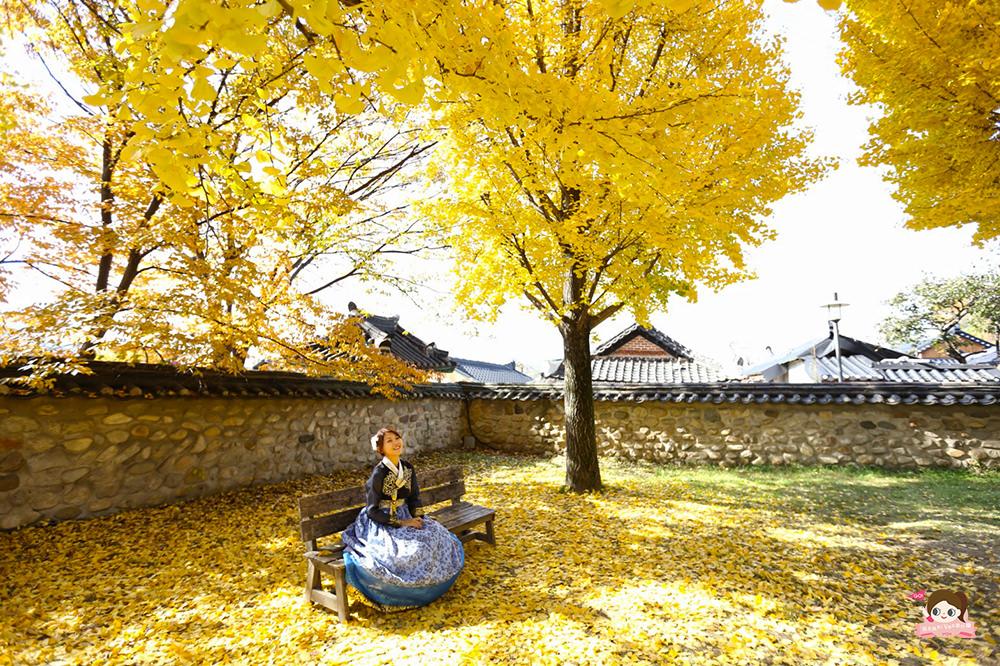 全州韓屋村 穿韓服 全州鄉校 雲畫的月光