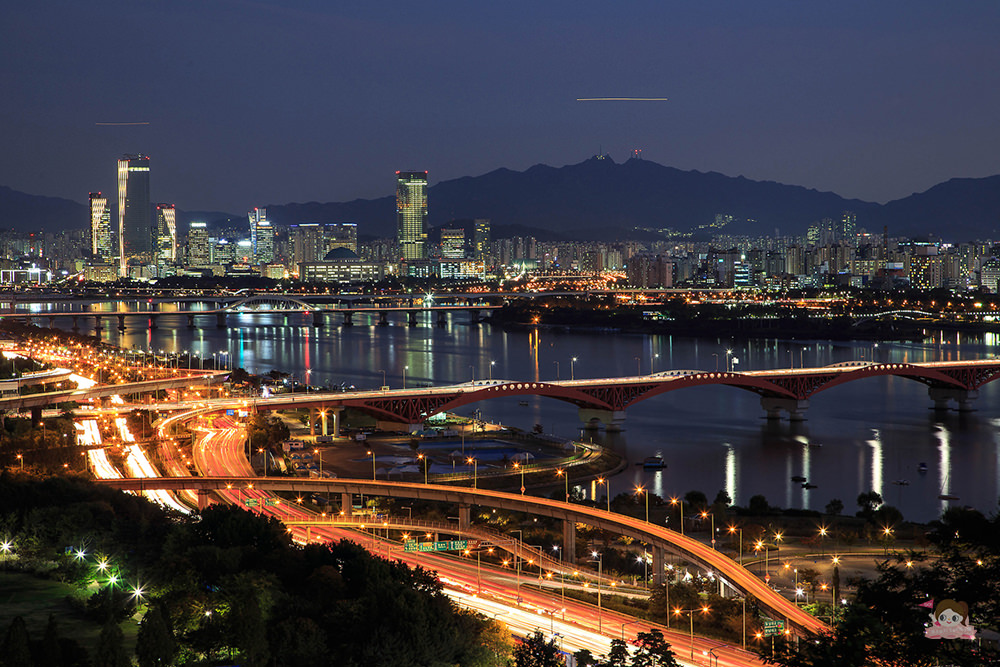 首爾紫芒節 天空公園