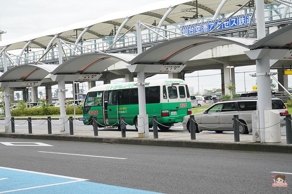 日本自駕 大曲煙火 TOYOTA租車 仙台機場
