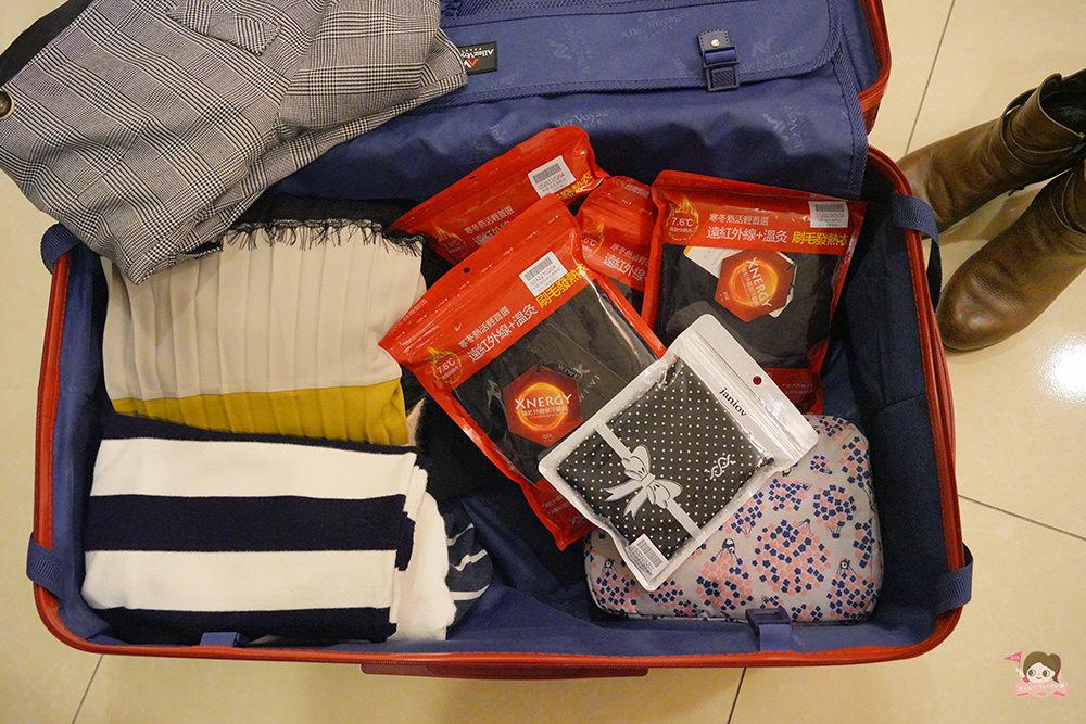 WIWI 發熱衣 溫感衣 冬天行李打包