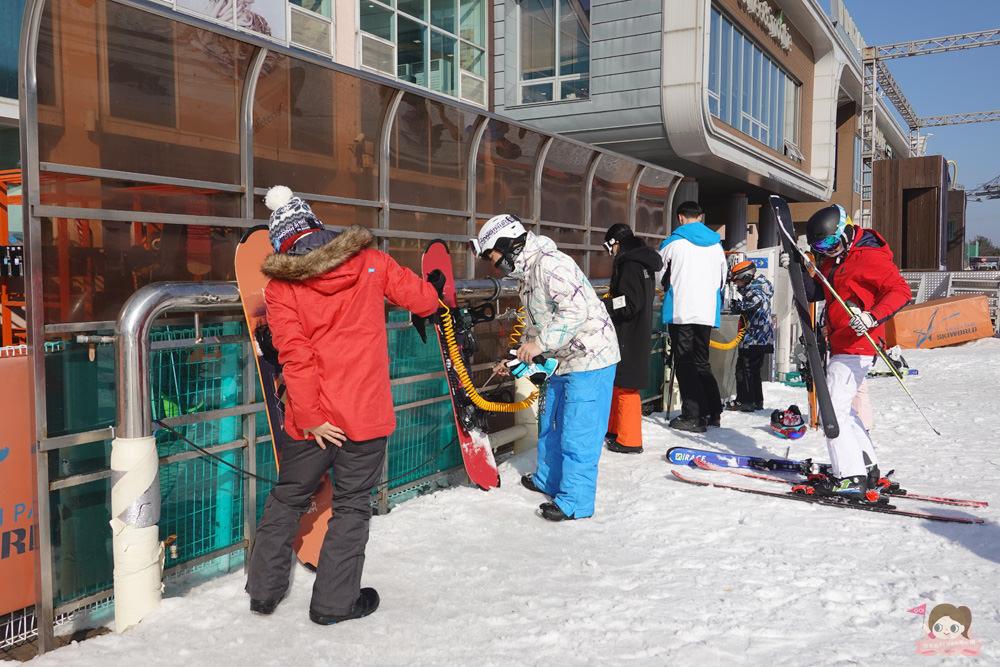 韓國滑雪會上癮