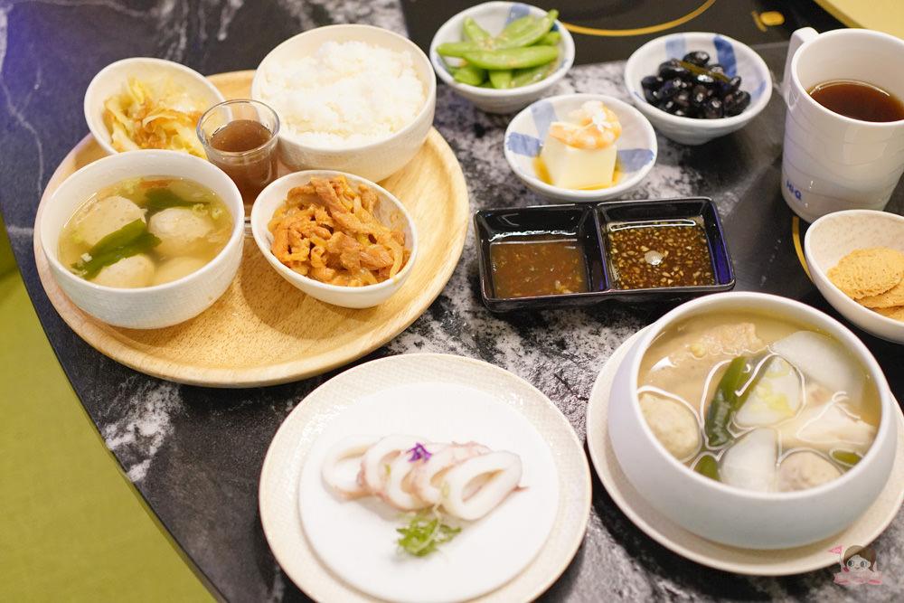 養生之道跟著節氣吃,Hi-Q 褐藻生活館節氣定食、冷拌中卷與褐藻關東煮上菜啦!薑黃咖哩火鍋