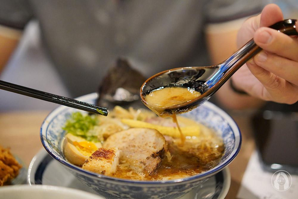 新北三重拉麵店-炊煙拉麵-濃厚系-雞白湯-豚骨拉麵