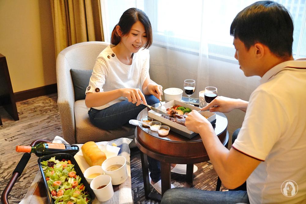 台北喜來登飯店安東廳頂級牛排住宿專案