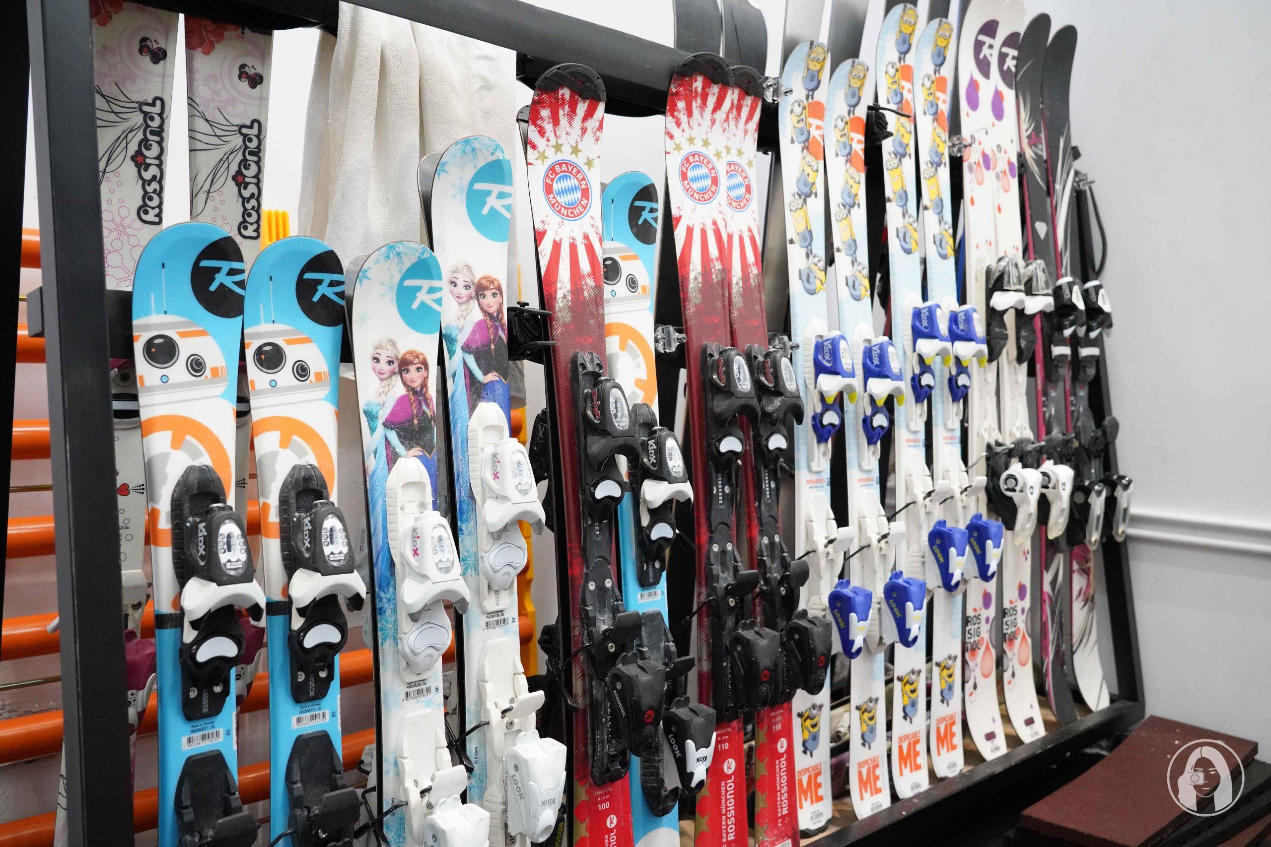滑遍天下滑雪中心 雪板