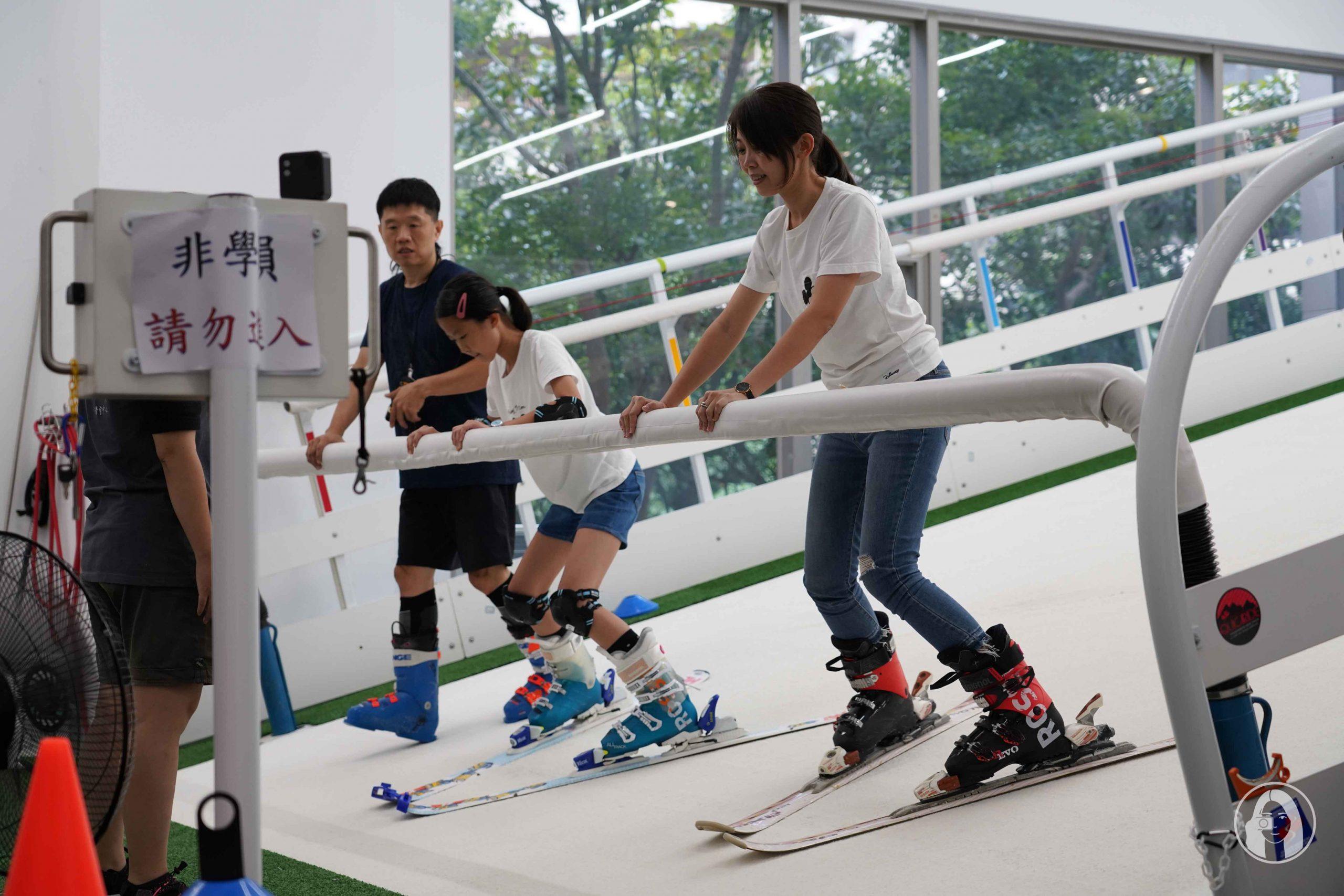 滑遍天下滑雪中心 家庭滑雪