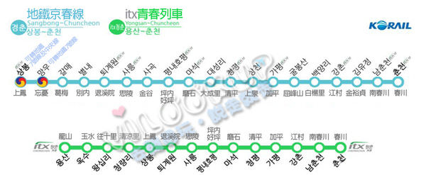 地鐵京春線路線及itx青春列車停靠站分列表.jpg
