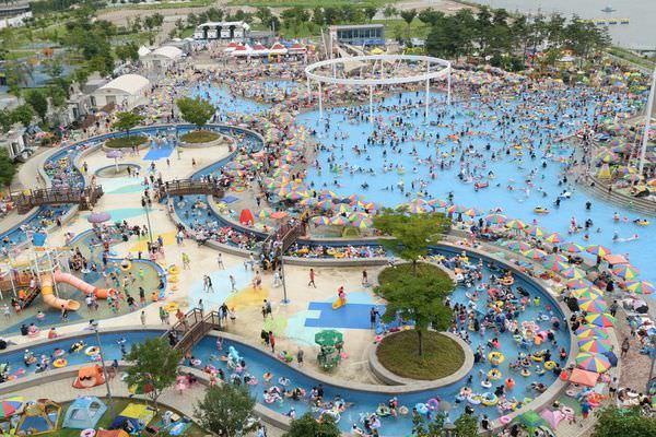 韓國旅遊資訊 | 首爾夏日清涼避暑盛地「漢江水上樂園」玩水趣