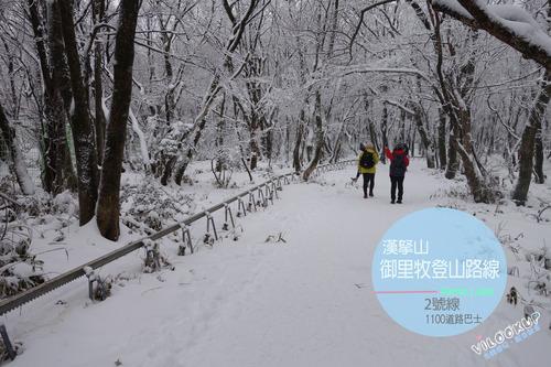 韓國人此生必去!登上韓國最高峰,白雪覆蓋的濟州島漢拿山한라산-御里牧登山路線어리목탐방로