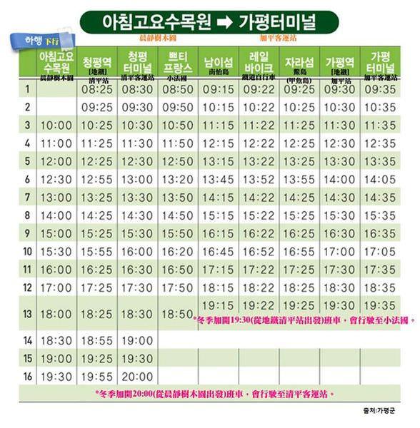 加平觀光巴士ALINE下行時刻表_201603.jpg