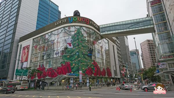 韓國旅行資訊 | 明洞樂天百貨免費寄物服務