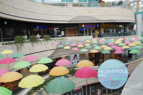 弘大商圈附近大型購物中心~MECENATPOLIS 메세나폴리스複合式商場 (設有HOME PLUS) /首爾【Line.6 合井站】