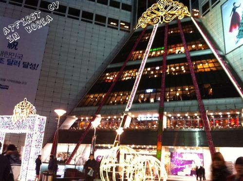 2011.Dec17 回歸韓國自由行Day2-3 夜覓食東大門。姜虎東屠夫烤肉