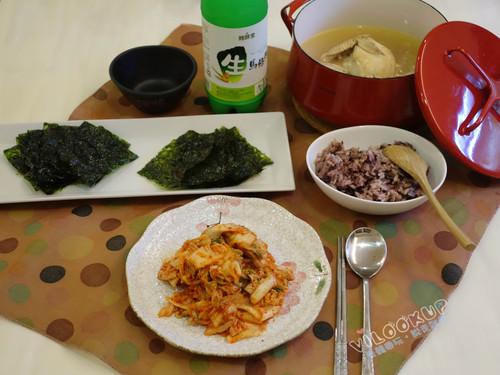 在家裡吃韓食簡單又輕鬆~人蔘雞、韓式麵線料理端上桌,思念韓國味