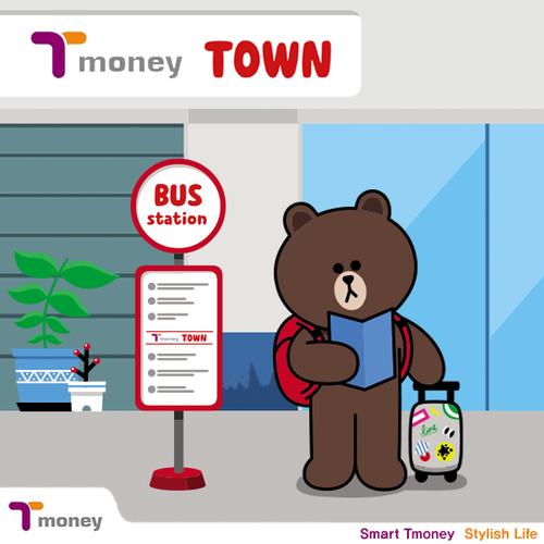 【玩韓國必備工具】LINE Friend Pop T-money 交通卡(라인프렌즈 팝티머니)~2015年7月新推出!