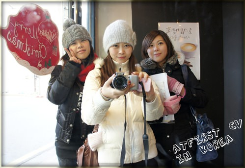 2011.Dec17 回歸韓國自由行Day2-1 弘益大學