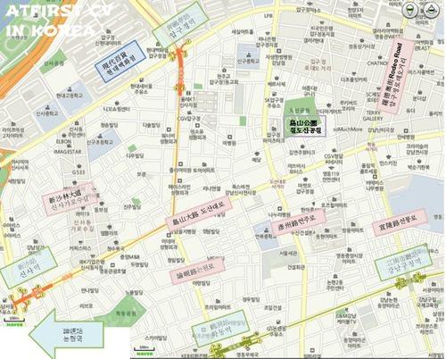 2011.Dec19 回歸韓國自由行Day4 新沙洞、狎鷗亭、SM TOWN、橋村炸雞、樂天百貨